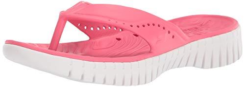 Skechers Women's GO Walk Smart-Mahalo Coral Slipper-3 UK (111115-CRL)