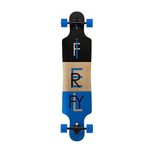 Firefly Freeride Longboard, Schwarz, One Size