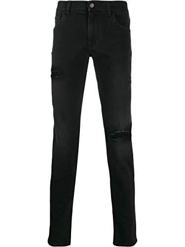 Luxury Fashion | Dolce E Gabbana Heren GY07LDG8BR3S9001 Zwart Katoen Jeans | Lente-zomer 20