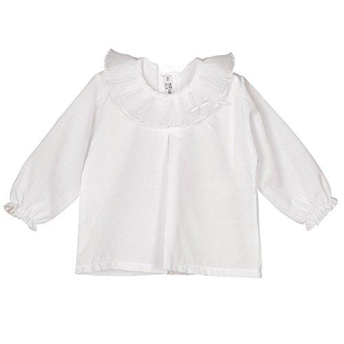 CALAMARO - Camisa Bebe bebé-niños Color: Blanco Talla: 6