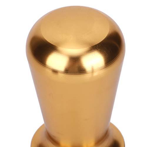 Martillo de prensa de café Martillo de polvo de café Herramientas de café Accesorio de máquina de manipulación de café para polvo prensado(champagne)
