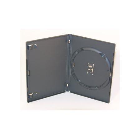 AMARAY - Cajas para DVD (50 unidades con capacidad para 1 disco, 14 mm)