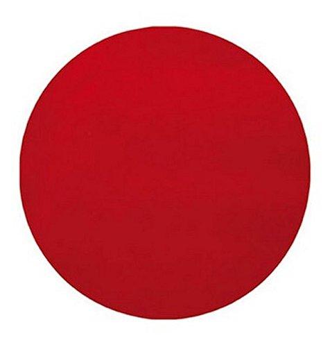 Chal - 50 Sets de table intissé ronds rouge