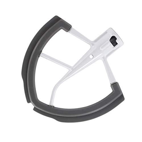 Batidor Flex Edge de 5.5 a 6 cuartos para accesorios de mezclador Kitchenaid, compatible con mezclador Kitchenaid Bowl-lift, batidor plano con bordes flexibles de silicona