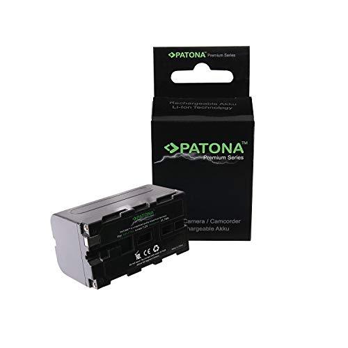 Patona NP- F750 Li-Ion Akku (4400mAh) für Sony - NP-F Mount, geeignet für Camcorder, LED Leuchten, Ringleuchten