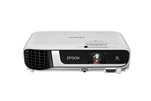 Epson EB-W51 3LCD Projektor (WXGA 1.280x800p, 4.000 Lumen Weiß- und Farbhelligkeit, Kontrastverhältnis 16.000:1, optionales WLAN, HDMI)