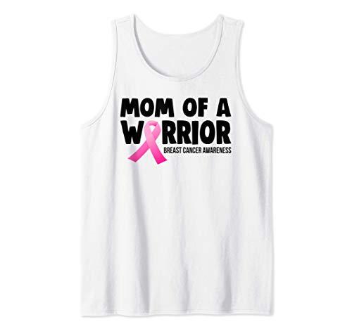 Mamá de un guerrero Conciencia sobre el cáncer de mama Camiseta sin Mangas