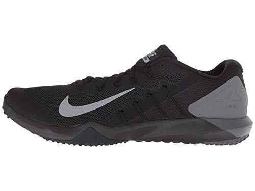 Nike Men's Retaliation Trainer Cross (10.5 M US, Black/MTLC Cool Grey-Anthracite)