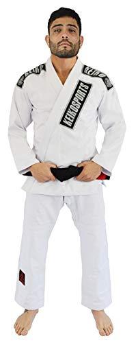 Keiko Sports Kimono Jiu Jitsu, Tam A3, Branco