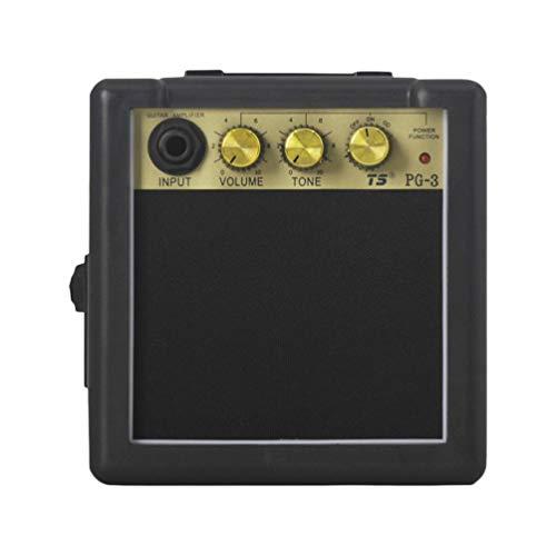 EXCEART Mini Amplificador de Guitarra Eléctrica Bajo Ukelele Ukelele Altavoz Altavoz ()