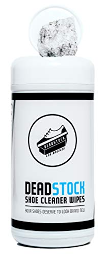 Deadstock Los Angeles Shoe Cleaner Wipes - 30 Packaged Sneaker Wipes - Removes Dirt Buildup, Stains,...