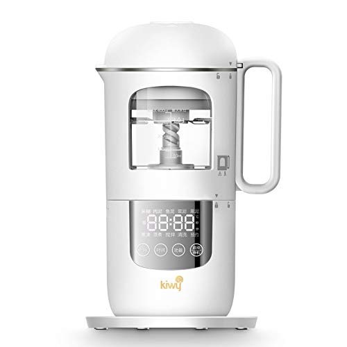 Kiwy Columbus Plus BT6002,Cuocipappa,Robot da Cucina,Omogeneizzatore,Multifunzione,Mixer,Cottura Vapore, Frullatore, Timer Intelligente,Pulizia Automatica