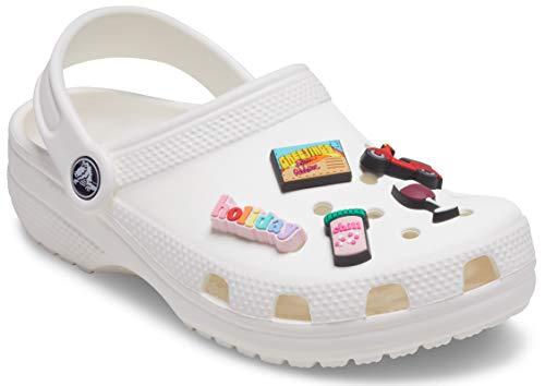 Crocs Jet Setter 5 Pack, Encantos para zapatos Unisex Adulto, multicolor, Talla única