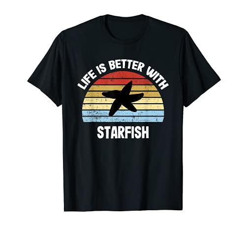 Starfish T-Shirt   Life is Better With Starfish T-Shirt