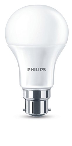 Philips B22 LED-Leuchtmittel, Bajonettsockel, 230°V, 11°W, opal, Warmweiß, Single Bulb, B22 230 volts