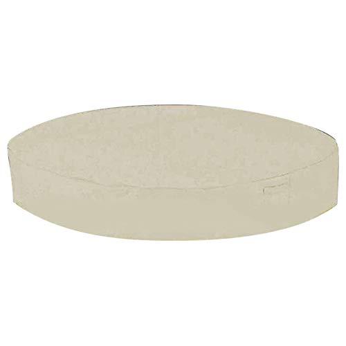 QOTSTEOS Cubierta redonda de la bañera de hidromasaje, Cubiertas anti UV al aire...