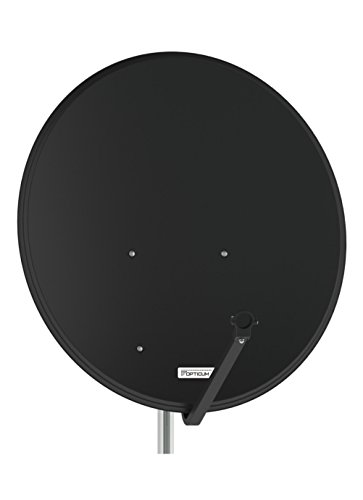 Antenne Opticum SAT Schüssel 80 cm Alu, LH-80 Anthrazit NEU FullHD HDTV