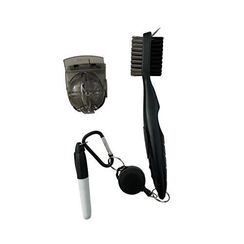Golf Gift Set Box - The Golfer's Kit – Retractable Clip Club Brush - Ball Marker Pen Tool Accessories Gift Set Box