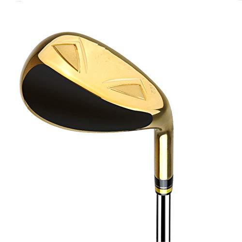 NgMik Gap DE Golf Wedge Golf Willges Hombre Armonized Golf Wedges Unisex Mano Derecha Corta rápidamente los Trazos (Color : Gold, Size : One Size)