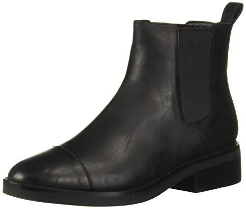 [コールハーン] マラ グランド チェルシー ブーツ womens W14944 ブラック レザー ウォータープルーフ 8.5-B