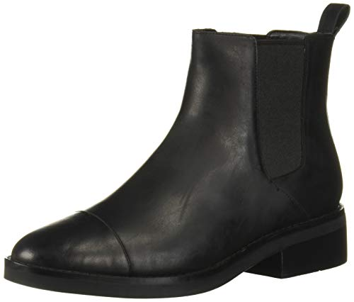 Cole Haan Women's Mara Grand Chls Boot Ankle, Black Leather Wp, 11 B US