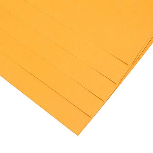 Windtor Origami-Papier, doppelseitig, Farbe, 40 Blatt, 4 K/8K, leicht faltbar, für Anfänger, Bastelprojekte 4K / 52*38cm goldfarben