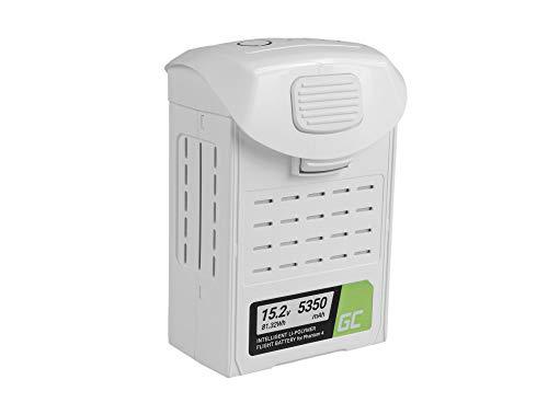 Green Cell® Batería para dji Phantom 4, Phantom 4 Pro, Phantom 4 Pro+ (Li-Polymer High Performance 5350mAh 81.32Wh 15.2V Blanco)
