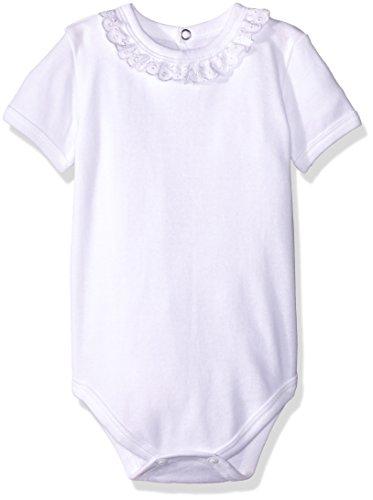 Baby Creysi Body para Bebé, color Blanco, 3 Meses