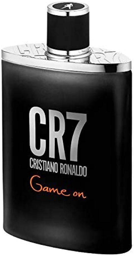 Cristiano ronaldo cr7 game one, eau de toilette,profumo per uomo, 50 ml 111316018