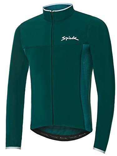 Spiuk Sportline Chaqueta Membrana Ligera Boreas Hombre, Verde, M