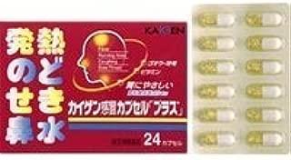 【指定第2類医薬品】カイゲン感冒カプセル「プラス」 24カプセル ×5