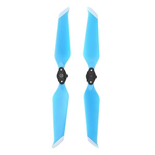 BIKING Hélice para Drones, 2 Piezas de hélice de bajo Ruido, hélices de liberación rápida, Accesorio Apto para MA_VIC 2 Drone(Azul)