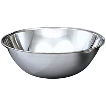 Vollrath Company Vollrath 3-Quart Economy Mixing Bowl, Stainless Steel, Silver