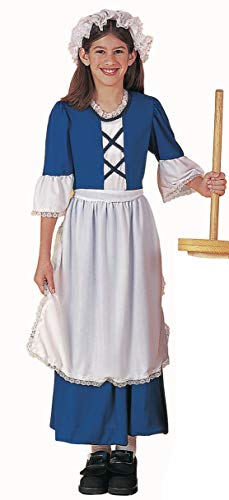 Forum Novelties Child's Colonial Girl Costume, Large