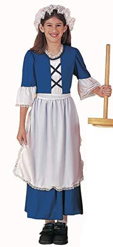Forum Novelties Colonial Girl Costume, Child's Large
