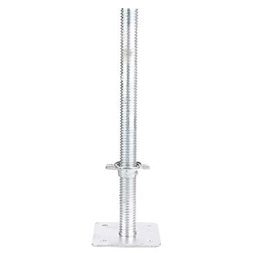 DHOUTDOORS Gerüstfüße Gewindespindel Gerüstfuß 0,50 m D=38mm für Baugerüste Fassadengerüst