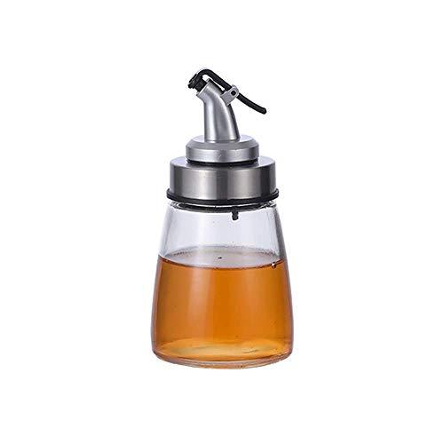 NOSSON Dispensador De Aceite Cocina, Botella De Vidrio Aceite Y Vinagre Set Cocina Aceite De Vidrio Condimento Botellas Trajes