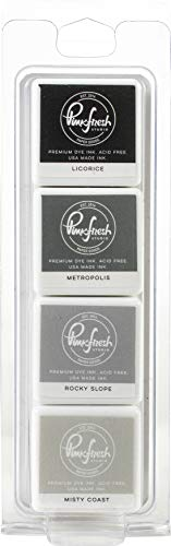 PINKFRESH STUDIO PINKFRESH Ink PAD 4P RAIN, Urban Regenjas, One Size