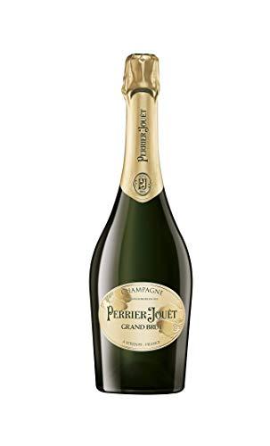Champagne Perrier-Jouët Grand Brut – Blumig-frischer und trockener Premium-Champagner aus dem Hause Perrier-Jouët – 1 x 0,75 L