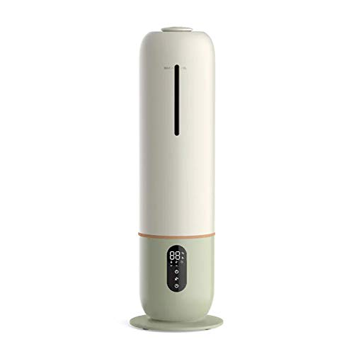 LOVE-HOME Humidificador De Aire, Purificador Vertical De Suelo De Gran Capacidad para El Hogar, Temporización UV para El Dormitorio del Hogar del Bebé