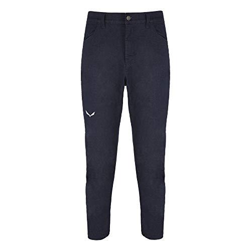 Salewa M Agner Denim 2 Cotton Pant Blau, Herren Hose, Größe L - Farbe Light Blue Jeans