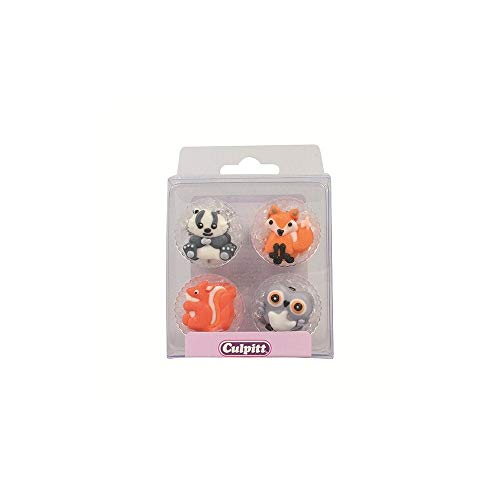 Woodland Friends Cake Toppers - 12 Pack