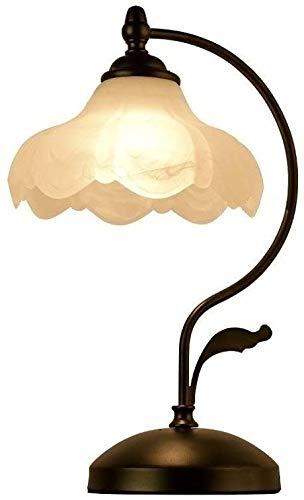 Aplique de pared de metal Lámparas de escritorio de hierro labrado retro dormitorio de noche de mesa de mesa de mesa de mesa vintage sala de estar estudio restaurante oficina escritorio linterna e27 A