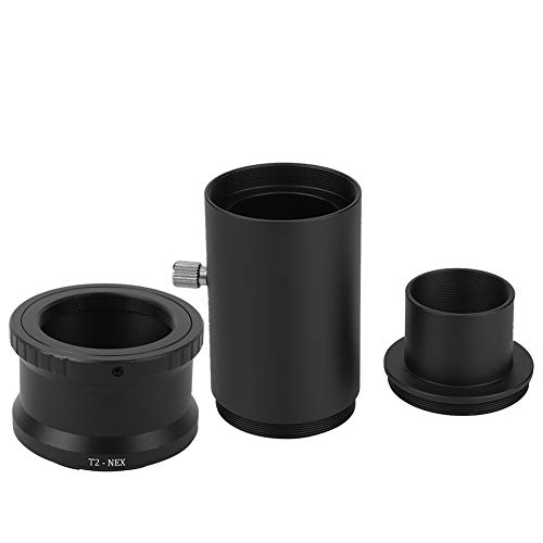 1.25 Inch Extension Tube Kit - 1.25 inch Diameter T Adapter Suitable for All Standard 1.25 inch Telescopes and Microscopes - For Sony E Mount Camera/For T2 Mount Telescope