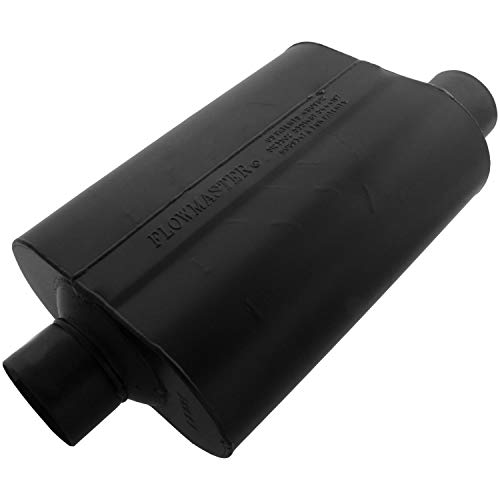 Flowmaster 953047 Super 40 Muffler - 3.00 Center IN / 3.00 Offset OUT - Aggressive Sound