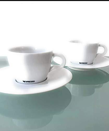 Nespresso 2er Set ClassicCappuccino Tasse mit Untertasse (2)