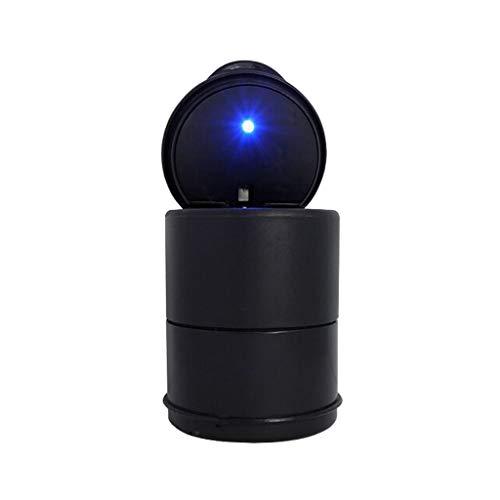 Accessoires De Voiture Cendrier Avec Lumières LED Multifonctions Nuit Haute Température Avec Couvercle Cendrier Universel