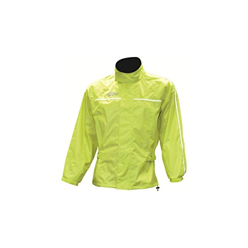 Oxford Products Oxford Rainseal All Weather Over Jacket Veste équitation, Fluorescent Yellow, XXL Mixte
