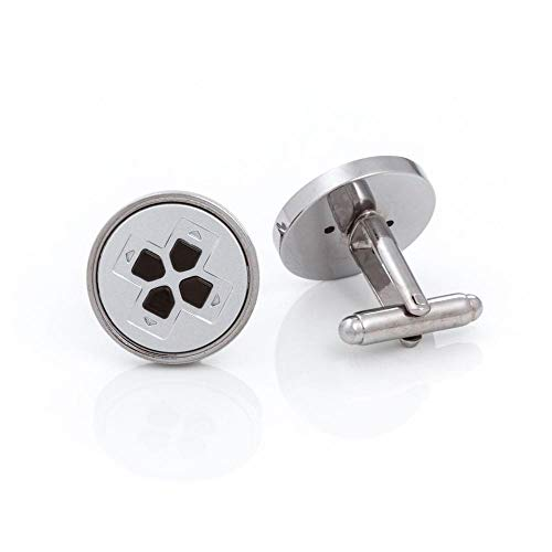 Rubber Road Playstation PS1 Controller Cufflinks Grey