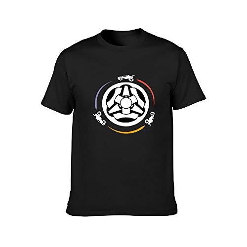 R-ocket L-eague - Camiseta unisex de manga corta de algodón suave y cómoda para adulto